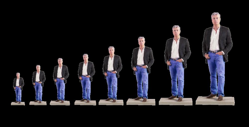 tamaños figuras en 3d
