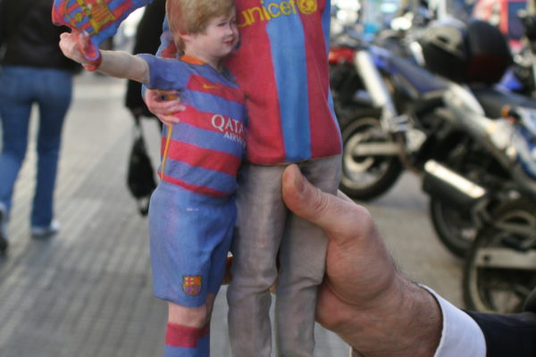 Tu pasión 3d. Tu, tu hijo y el Barça…by Selfier