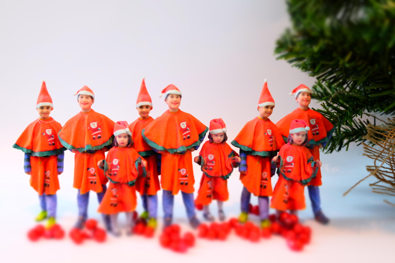 Figuras 3d para el árbol de Navidad